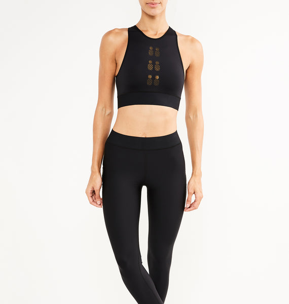 Altitude Flash Pineapple Crop Top