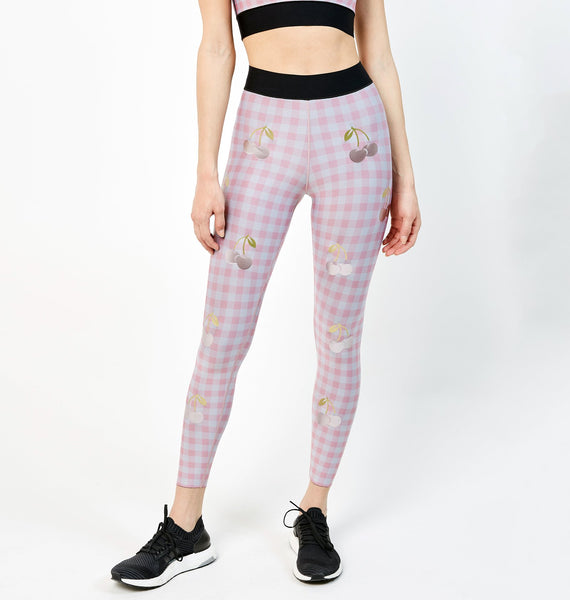 Cherry Check Legging - Exclusive Offer