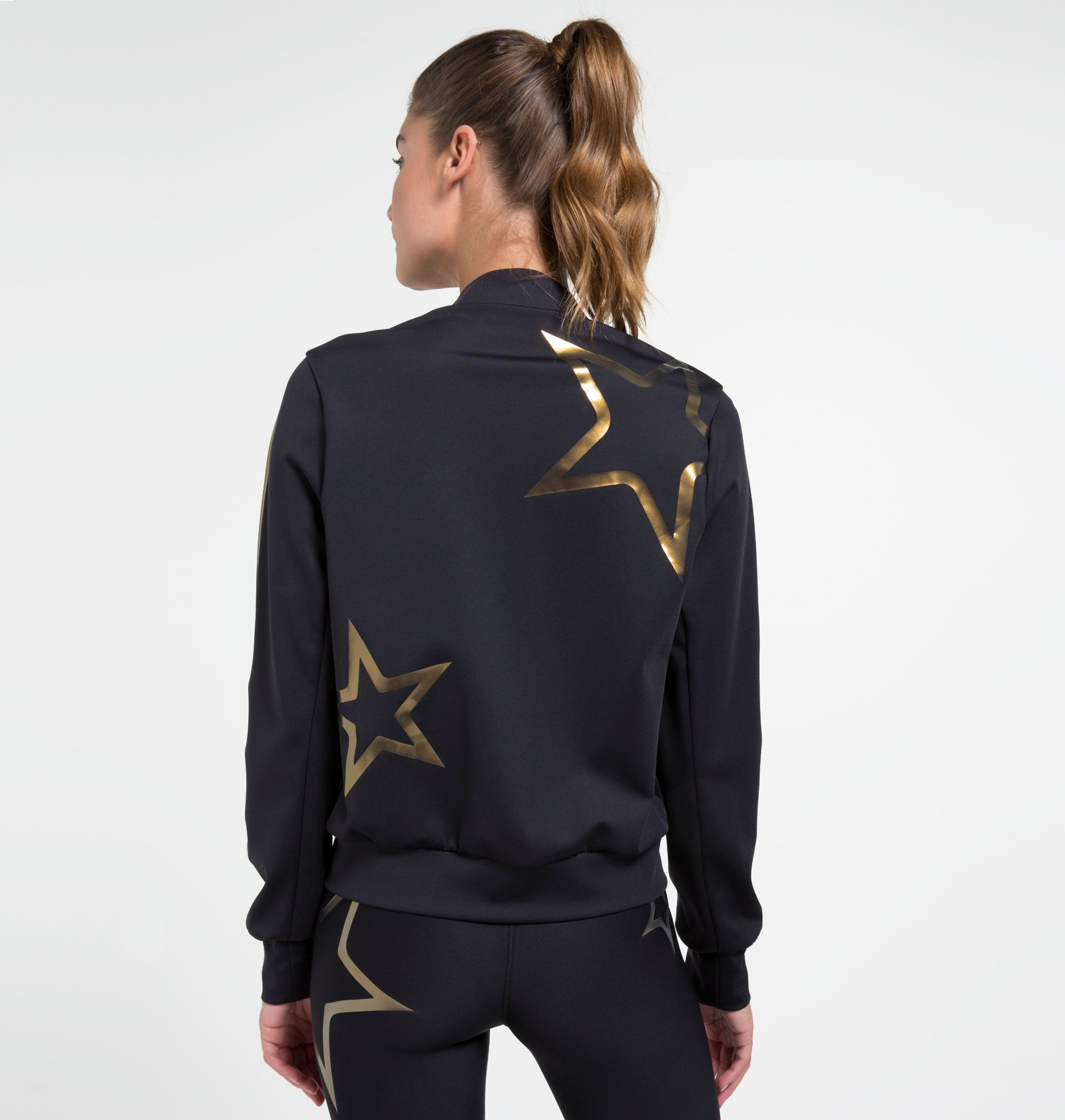 Stealth Pop Star Bomber Jacket