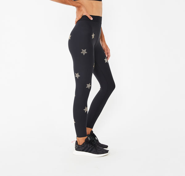 Fit Knockout Legging with Swarovski® Crystals