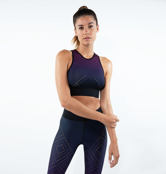 Altitude Argyle Pixelate Crop Top - Exclusive Offer