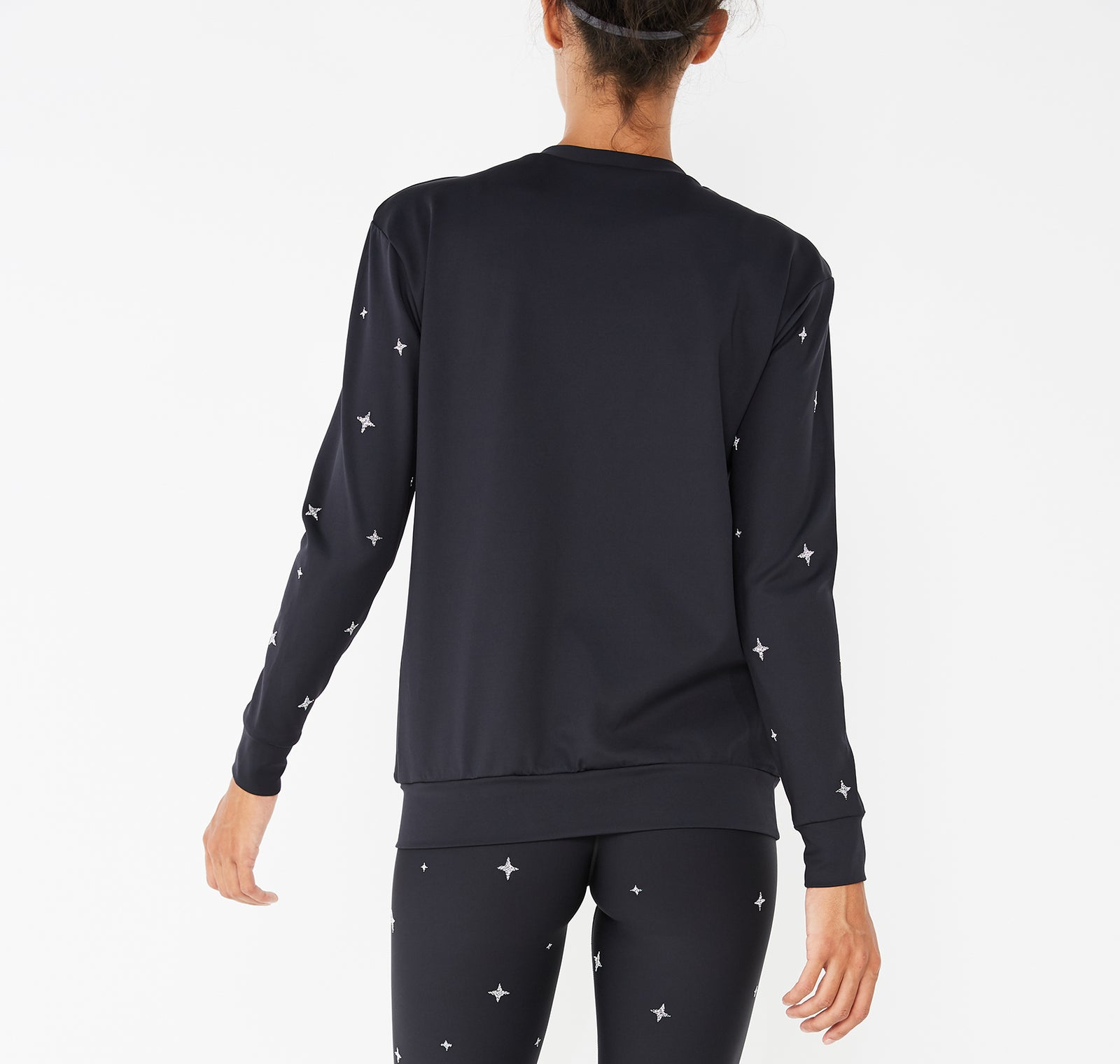 Surface Fit Starlight Sweatshirt with Swarovski® Crystals