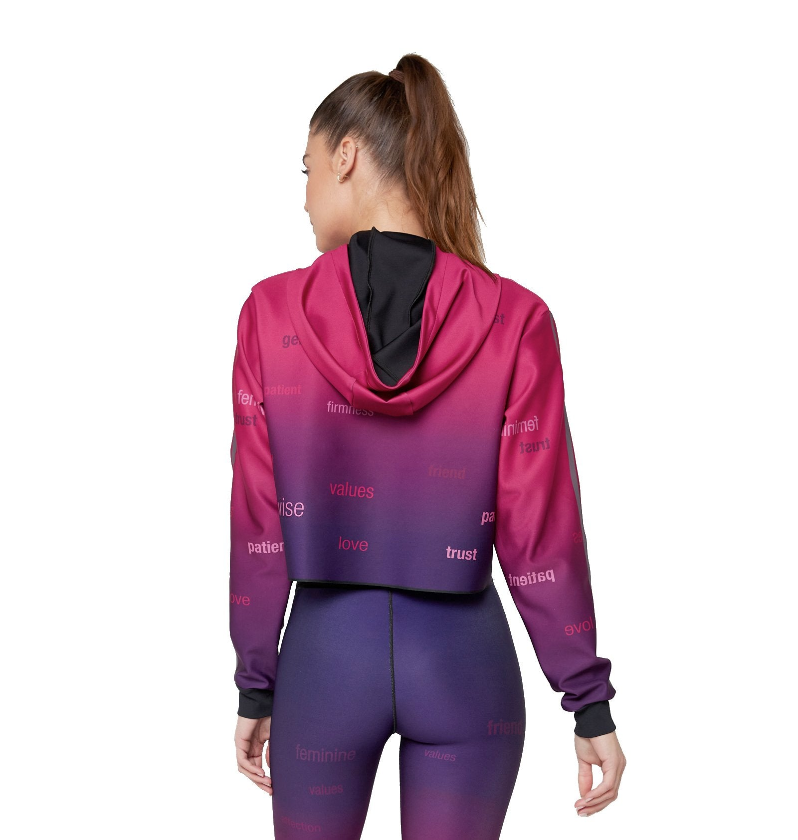 Fuchsia Gradient/Purple Grey Opaco