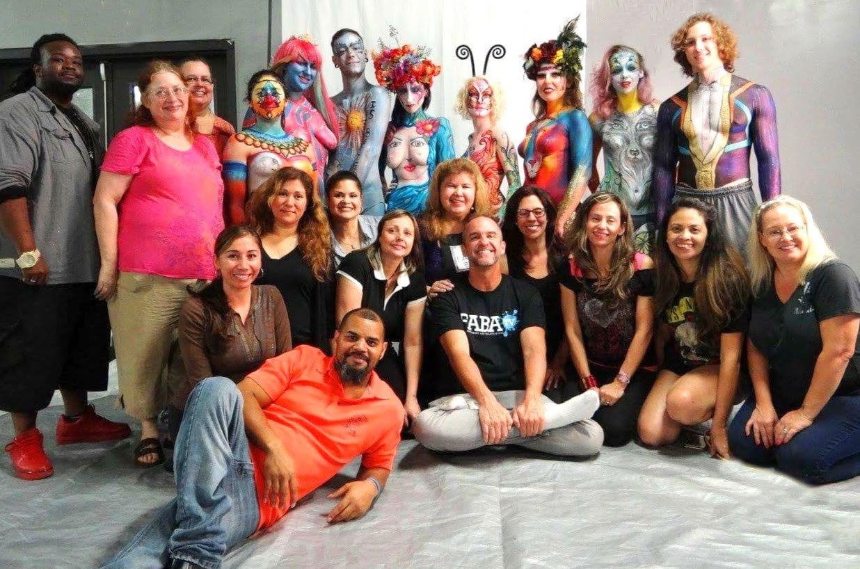 Nick Wolfe at FAB JAM - Central Florida's Body Art Scene Continues to Expand