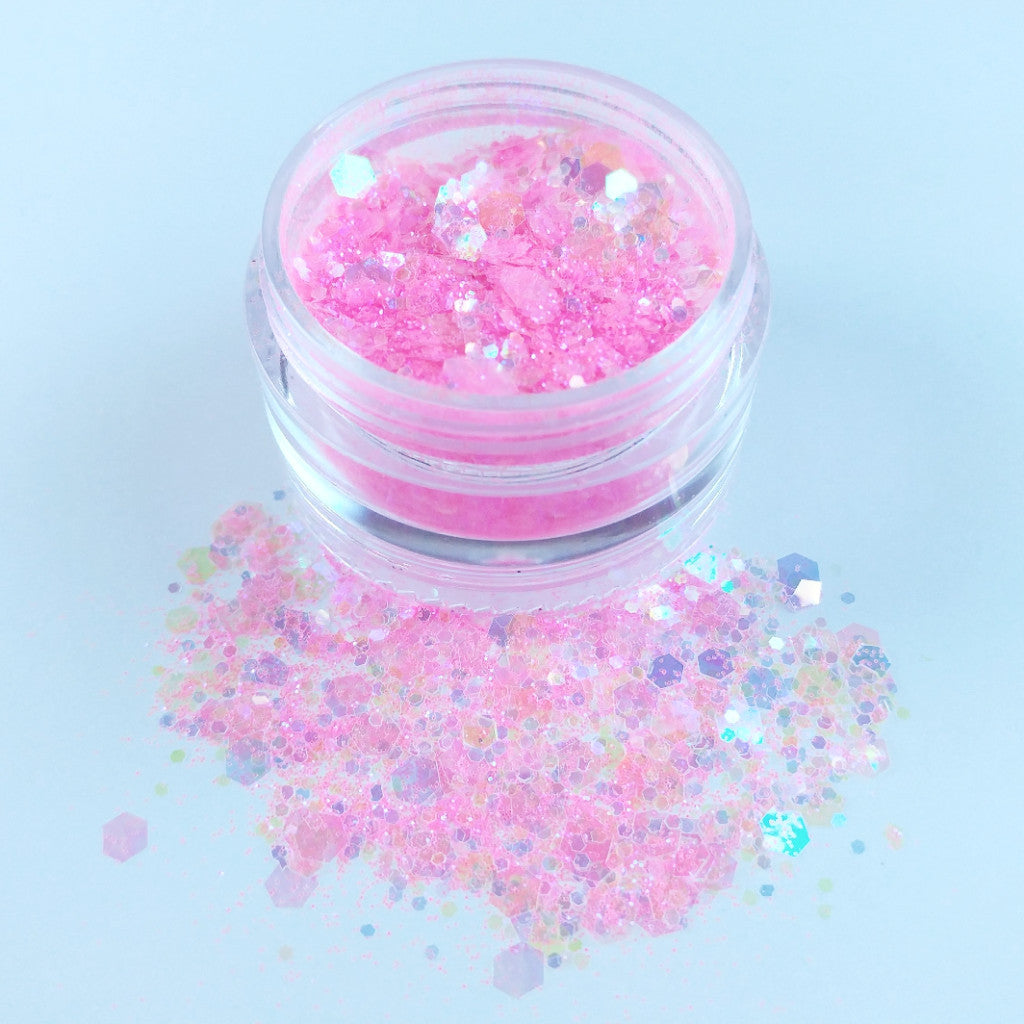 Princess Pink - Chunky Glitter Mix
