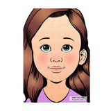 Face Painting Practice Board by Sparkling Faces - ANGELINA