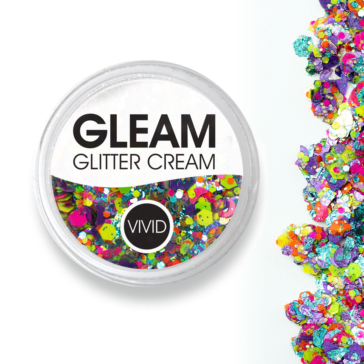 Aloha - Gleam Chunky Glitter Cream