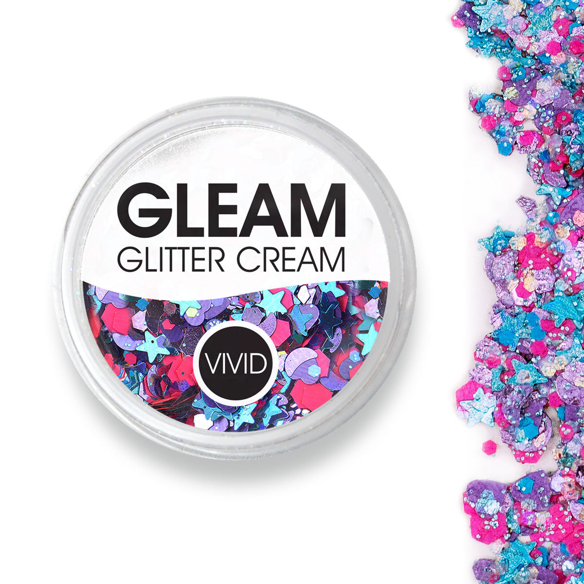 Blazin Unicorn - Gleam Chunky Glitter Cream