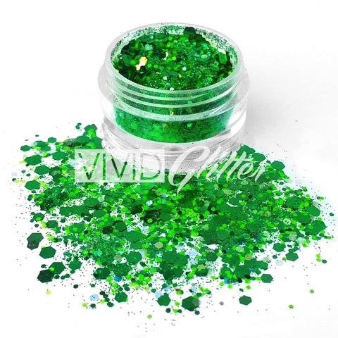 Evergreen- Chunky Glitter Mix
