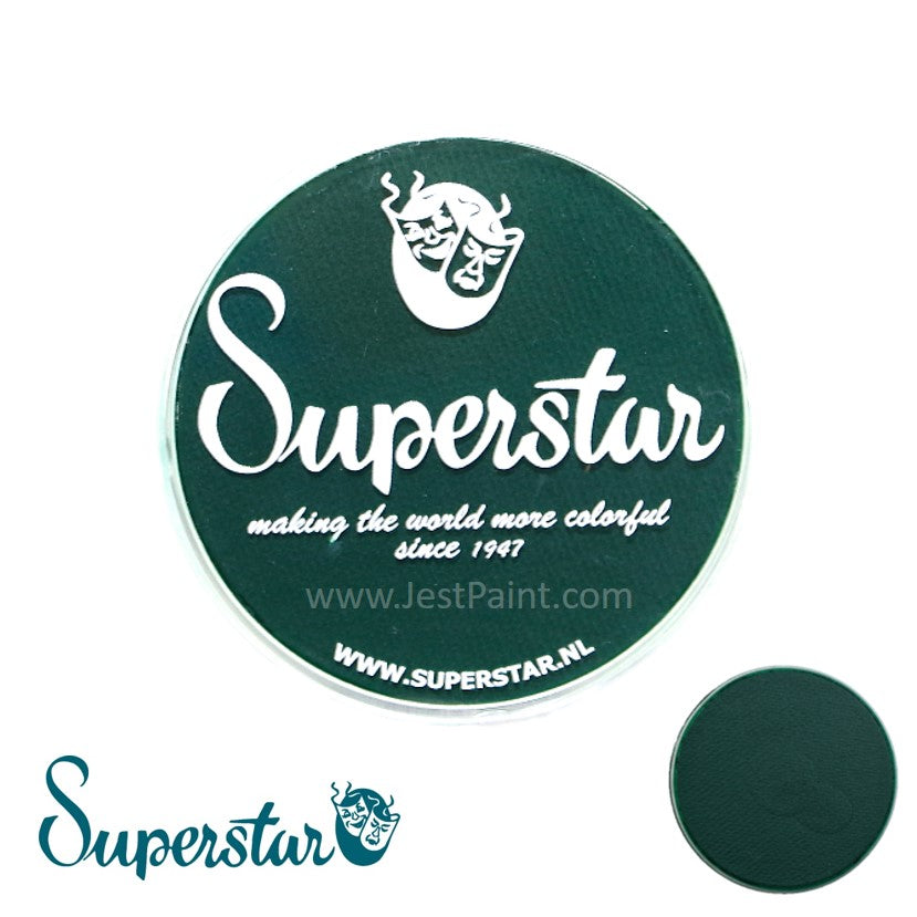 Superstar Face Paint - Dark Green 45g