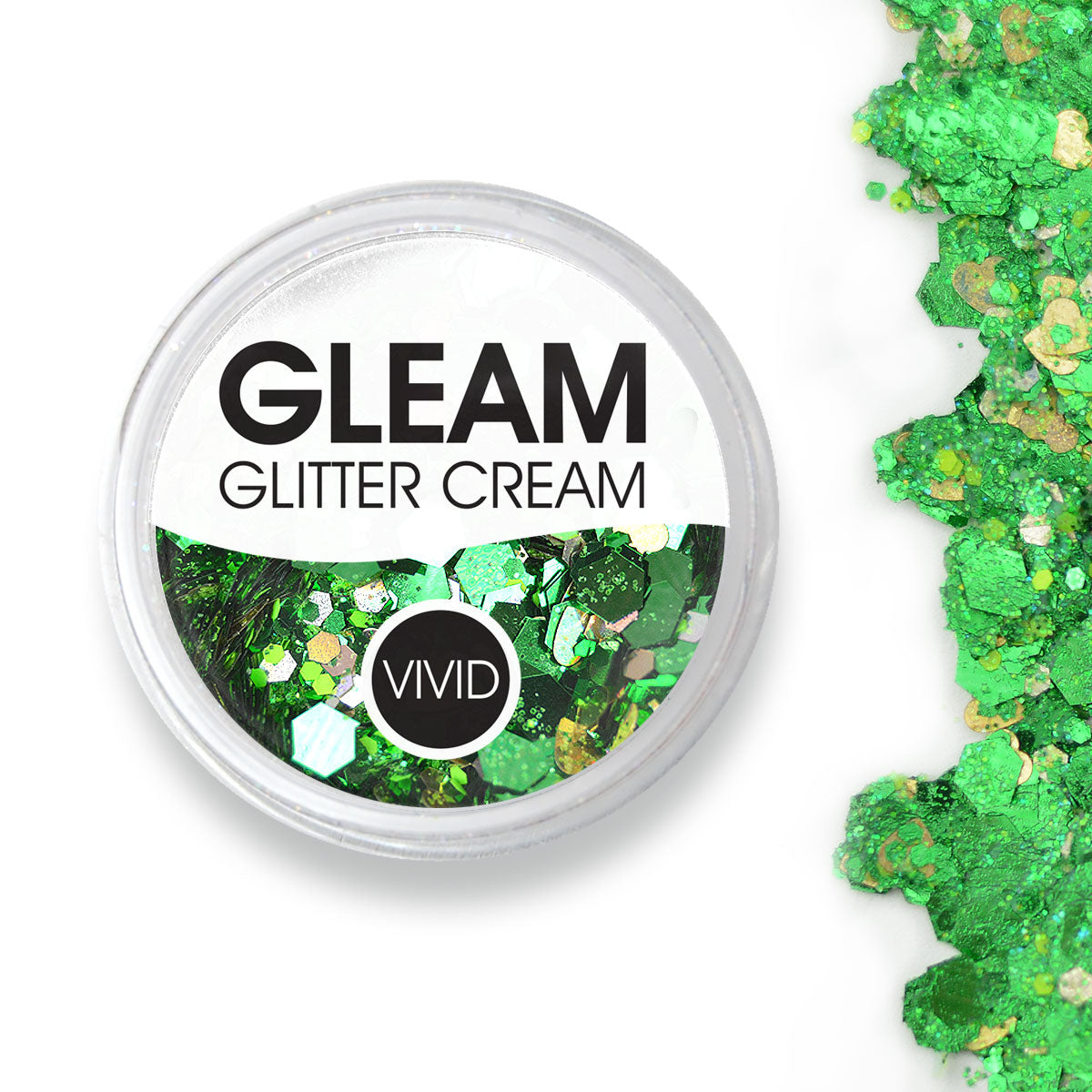 Evergreen - Gleam Chunky Glitter Cream
