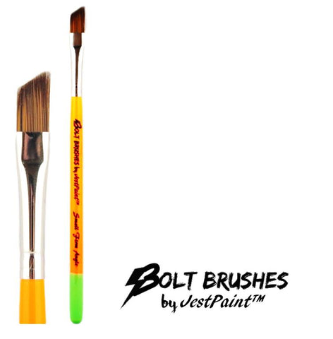 "Bolt Brushes - New 1/4"" Short Small Firm Angle"