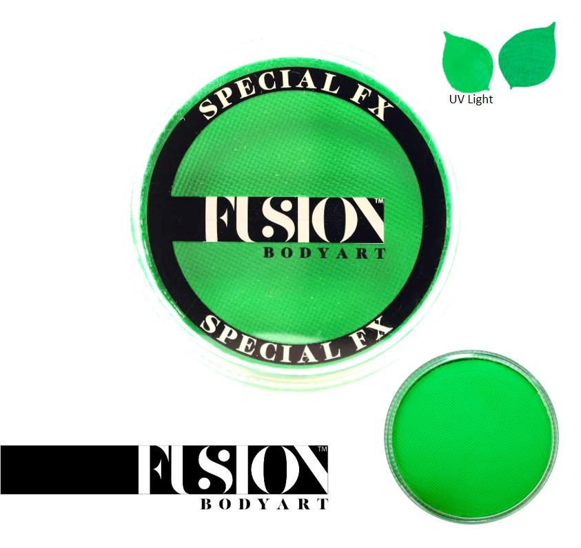 Fusion Body Art Face Paint - Neon Green 32g