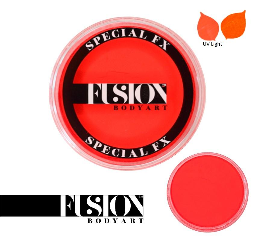 Fusion Body Art Face Paint - Neon Orange 32g