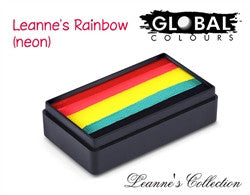 Global Colours - Fun Stroke LC Leanne's Rainbow Neon
