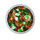 Triumphant - Orange & Green - Gameday Glitter