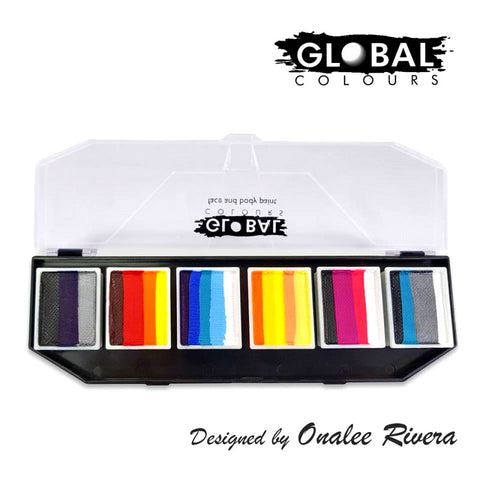 Global Colours - Fun Stroke Paint Palette - Hero Power by Onalee Rivera
