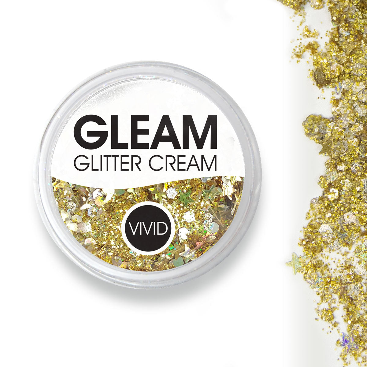 Gold Dust - Gleam Chunky Glitter Cream