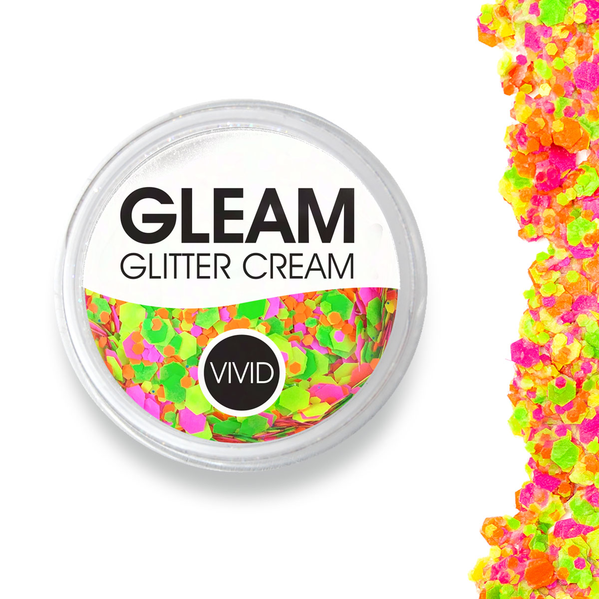 Ignite - Gleam UV Chunky Glitter Cream