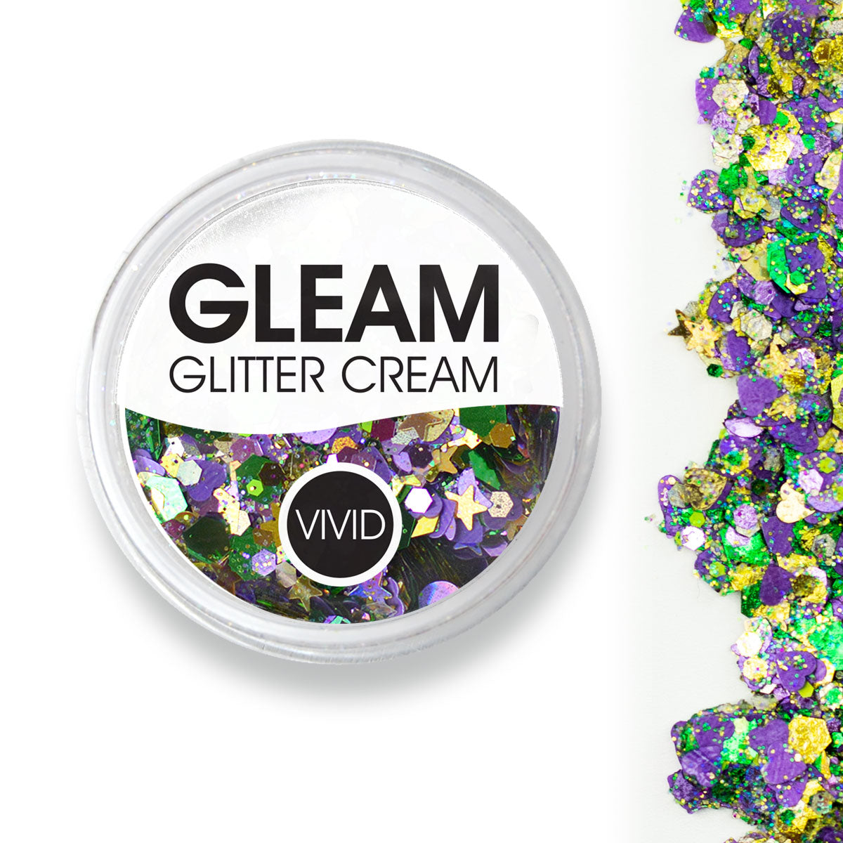 Mardi Party - Gleam Chunky Glitter Cream