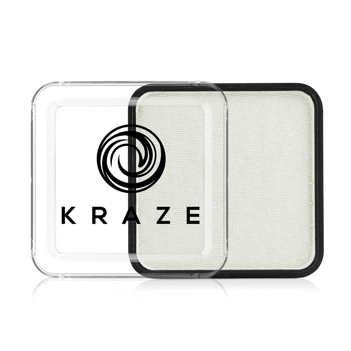 Metallic White Square 25g - Kraze