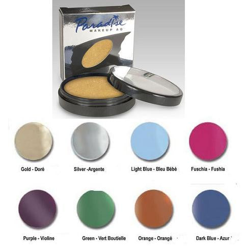 Brilliant Colors Paradise Makeup AQ Professional Size Brilliant Colors