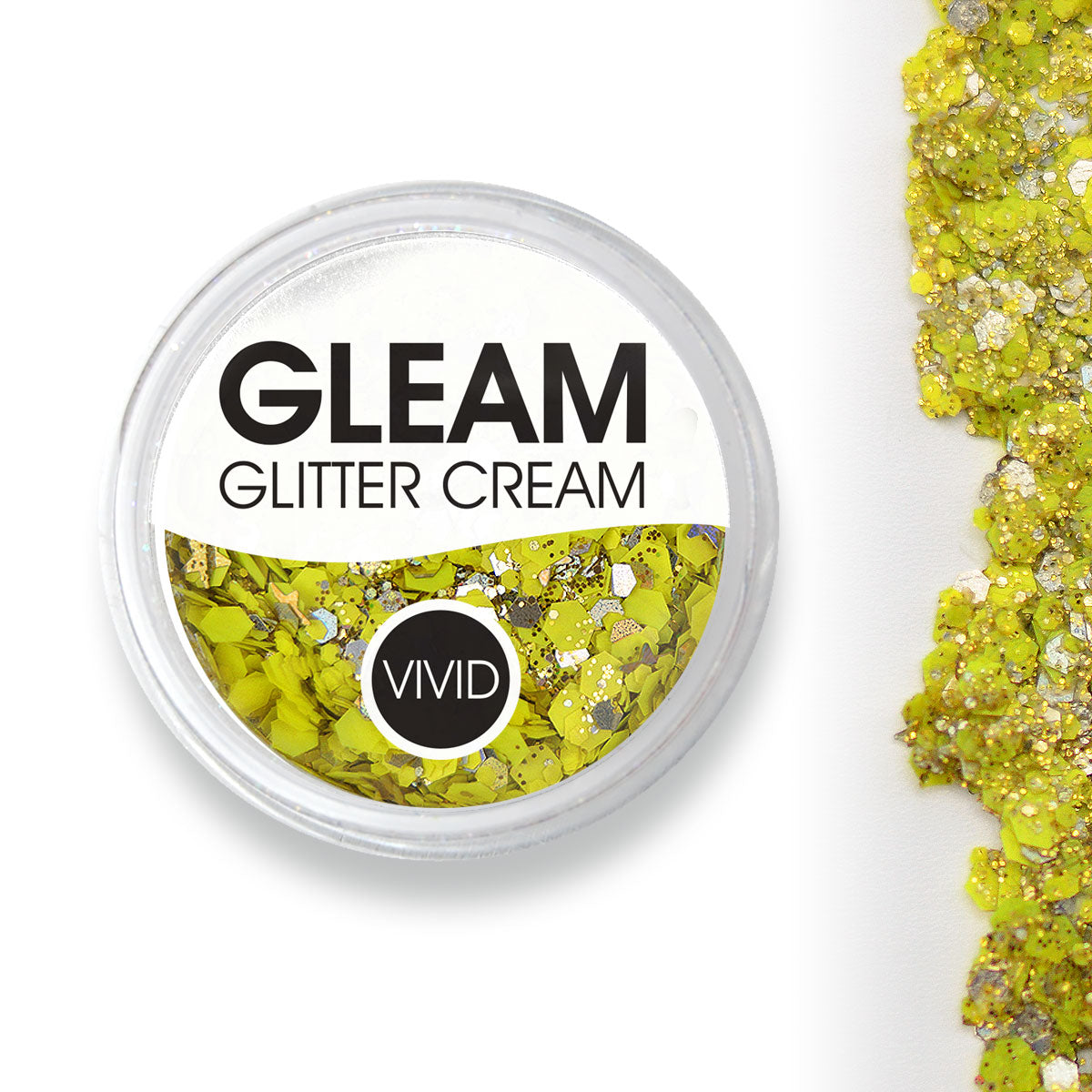 Pineapple - Gleam Chunky Glitter Cream (Supports Healing Smiles Foundation)