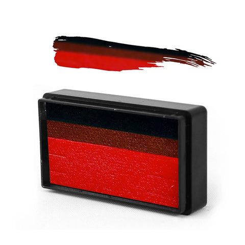 Pirate Red Arty Brush Cake - Susy Amaro's EZ Stroke Collection