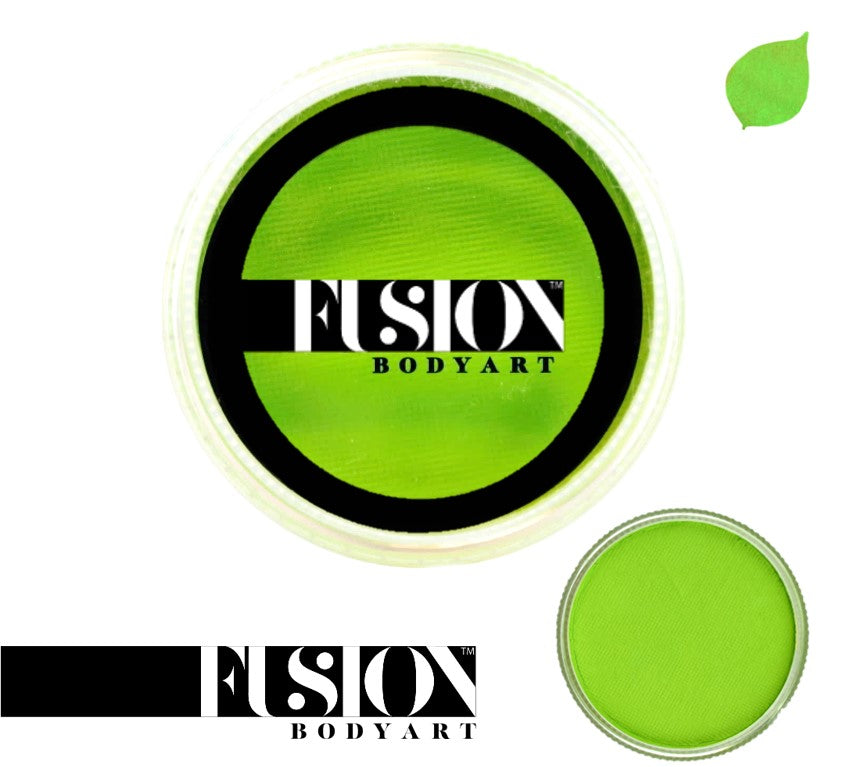 Fusion Body Art Face Paint - Prime Lime Green 32g
