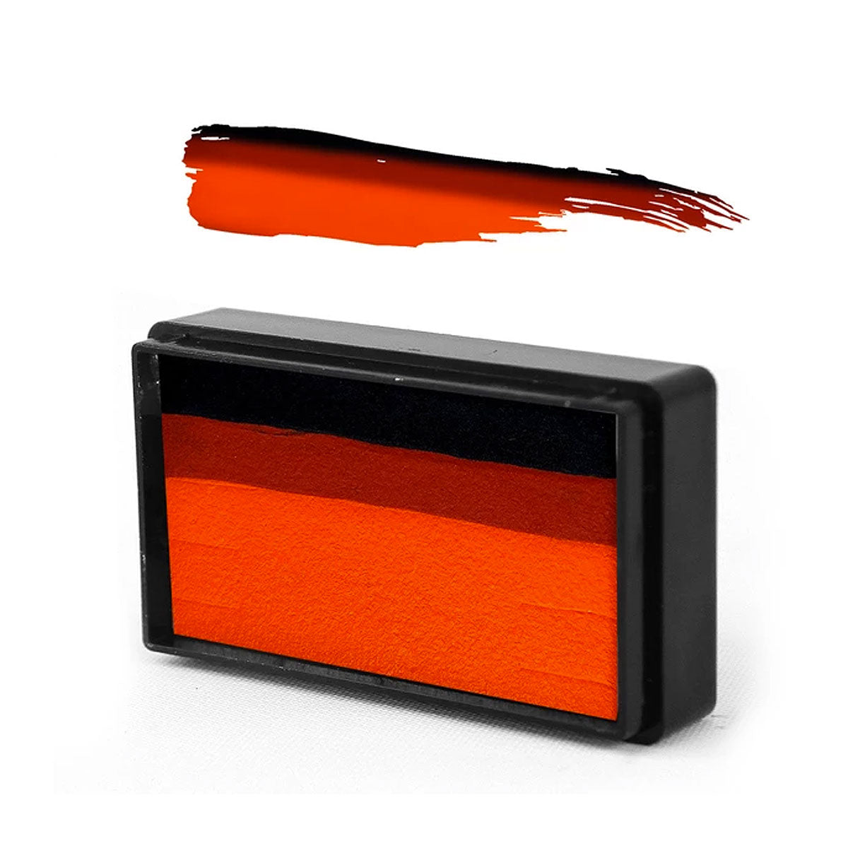 Pumpkin Orange Arty Brush Cake - Susy Amaro's EZ Stroke Collection