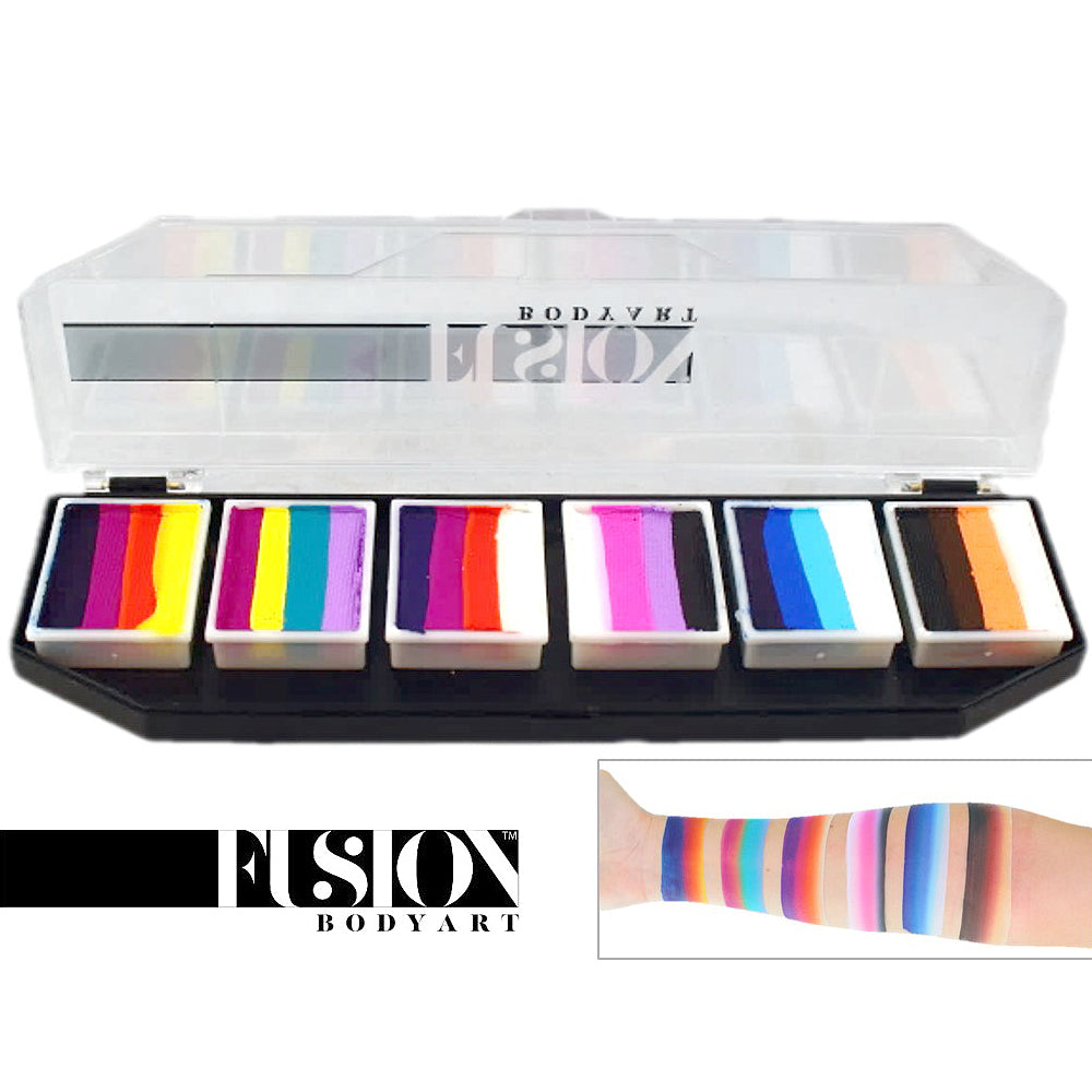 Fusion Body Art Palette - Rainbow Splash