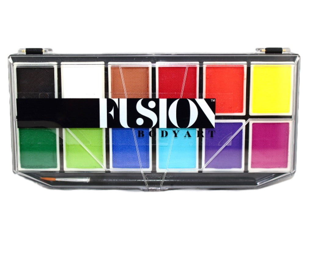 Fusion Body Art Palette - Sampler