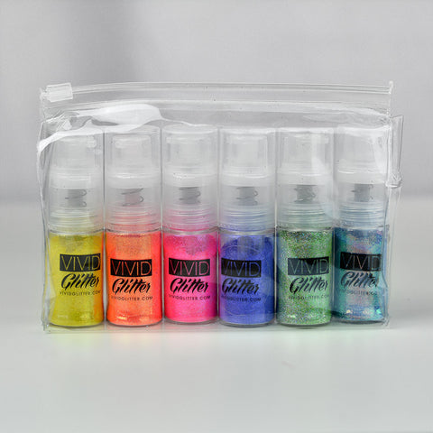 Fine Mist Spray Pump BUNDLE (6 colors)