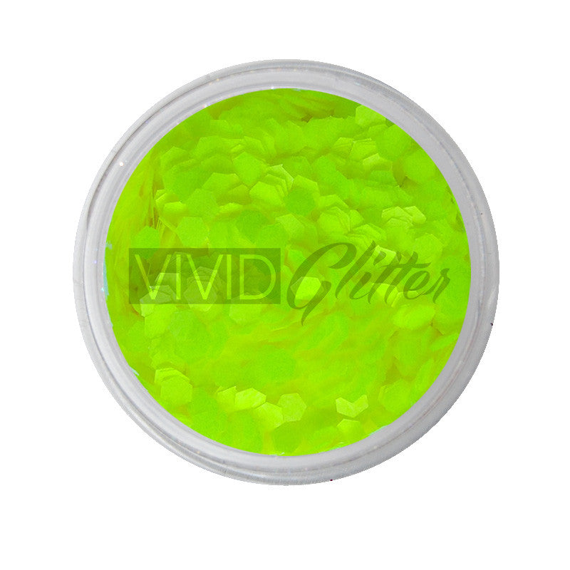 Yellow Bellows - UV Chunky Glitter