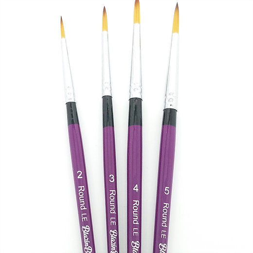 Blazin Brush 4PC Set Limited Edition