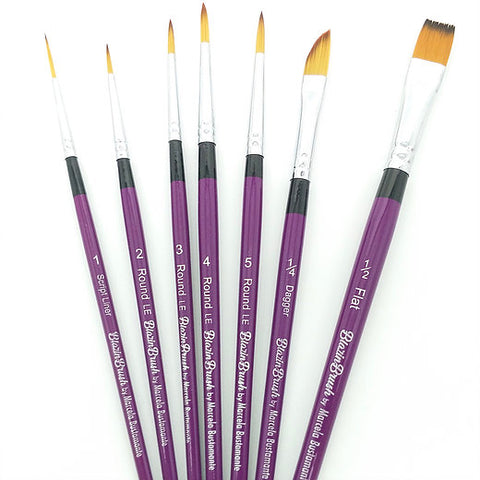 Blazin Brush 7PC Limited Edition Set