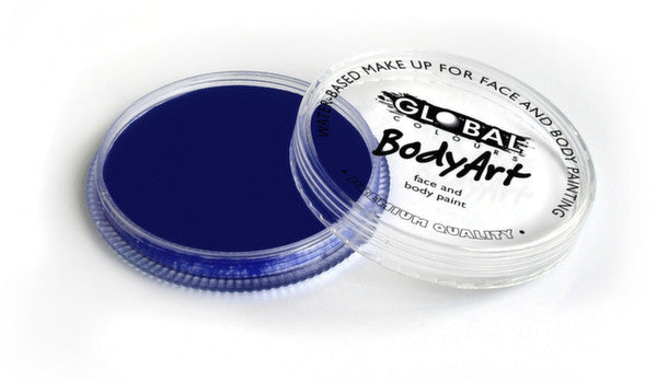 Global Body Art Face Paint - Standard Dark Blue 32g
