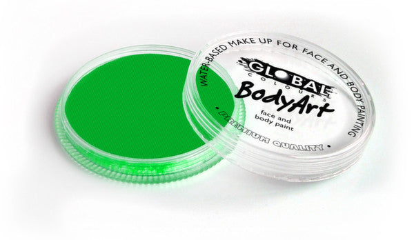 Global Body Art Face Paint - Neon Green 32g
