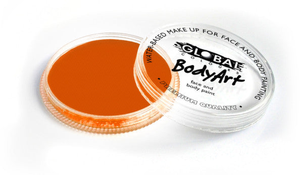 Global Body Art Face Paint - Neon Orange 32g