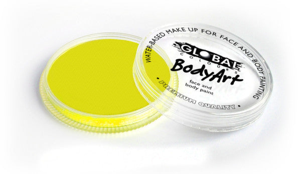 Global Body Art  - Neon Yellow 32g