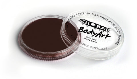 Global Body Art Face Paint - Standard Rose Brown  32g