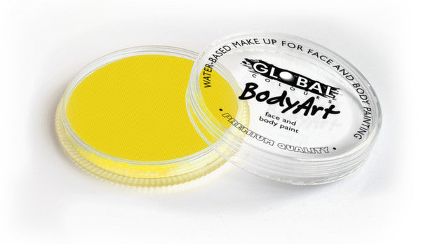 Global Body Art Face Paint - Standard Yellow 32g