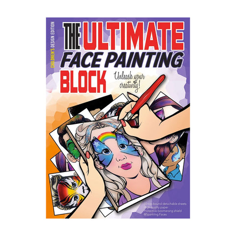 Children Face Painting Practice Block by Sparkling Faces