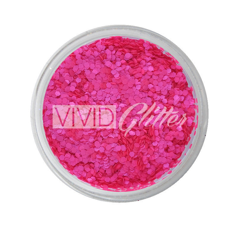 Plutonian Pink (small chunks) - UV Chunky Glitter