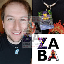 Alakazam 1/165 Expedition Extended Art Custom Pokemon Card 18 Necklace (Pic For Reference)
