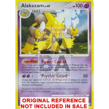 Alakazam 2/123 Xy Fates Collide Extended Art Custom Pokemon Card