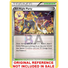 All-Night Party 96/122 Breakpoint Extended Art Custom Pokemon Card