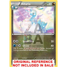 Altaria 92/113 Black & White Legendary Treasures Extended Art Custom Pokemon Card