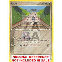 Aron 48/92 Legend Maker Extended Art Custom Pokemon Card