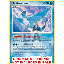 Articuno 1/100 Majestic Dawn Extended Art Custom Pokemon Card